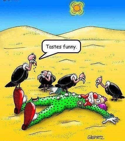 taste funny