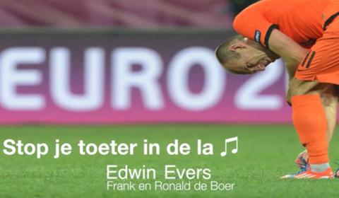 Stop je toeter in de la Edwin Evers
