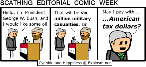 bush oil cyanide and happiness