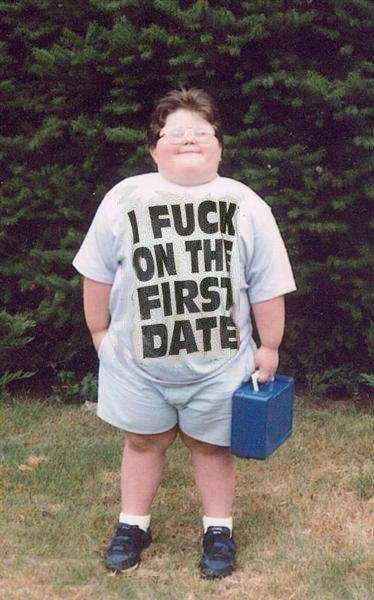 i $%## on the first date