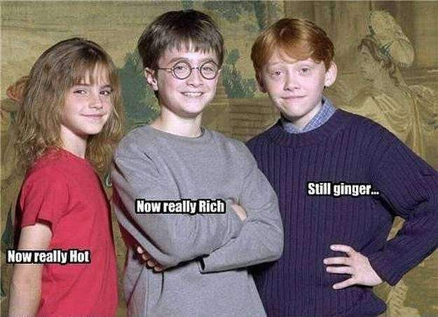 Harry potter did this funny image
