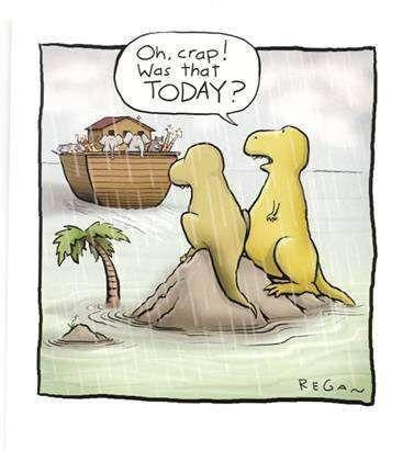 Hoe de dinos zijn uitgestorven - De Beste Moppen