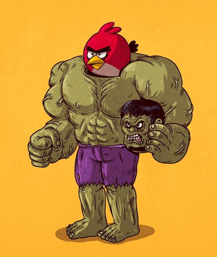 Hulk grappig plaatje