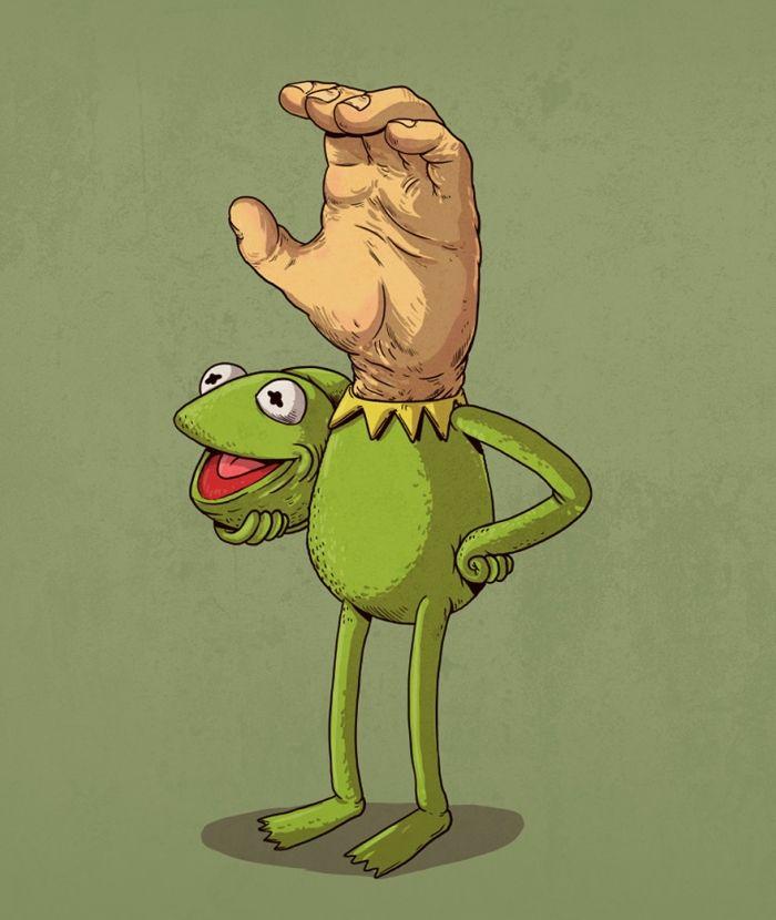 Kermit moppen