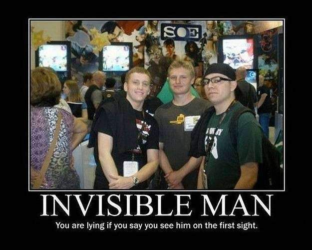 invisible man funny image
