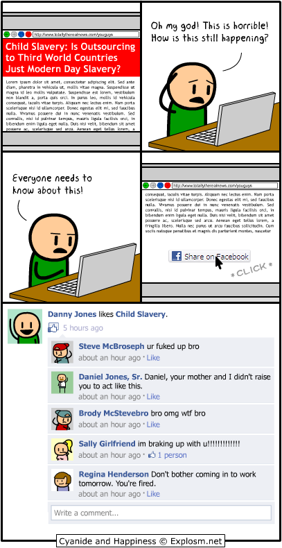 facebook like this cyanide and happiness