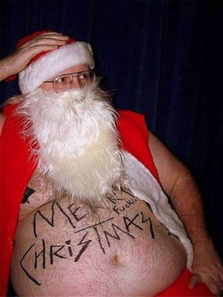 Merry Christmas bad santa