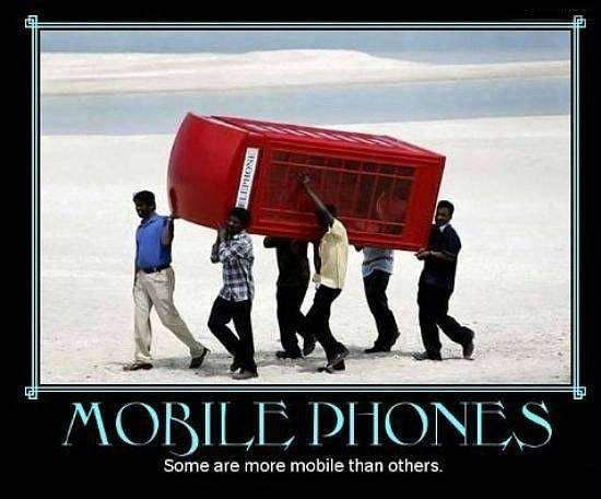 mobile phones funny image