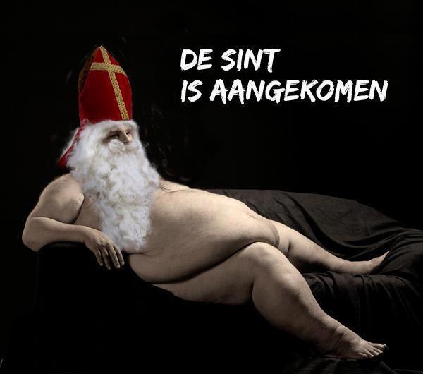 Sinterklaas is aangekomen grappige plaatje