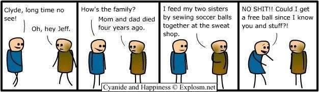 sweatshop cyanide and happiness cartoon