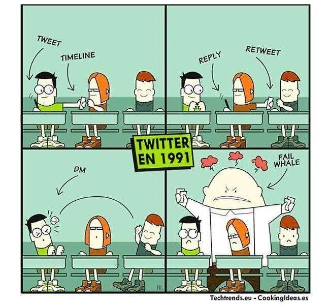 Twitter in 1991